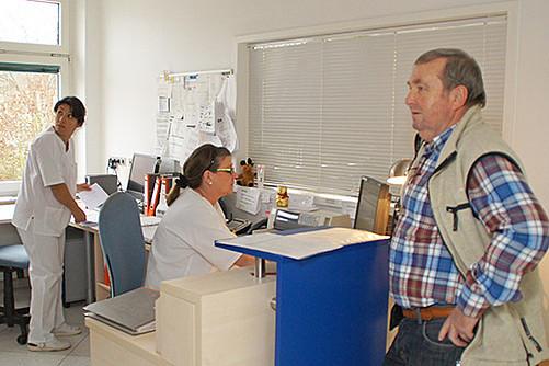 Anmeldung Transplantationsambulanz, Herr Weber